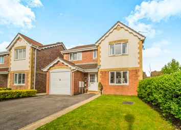 Thumbnail 4 bed detached house for sale in Pant Y Dderwen, Pontyclun