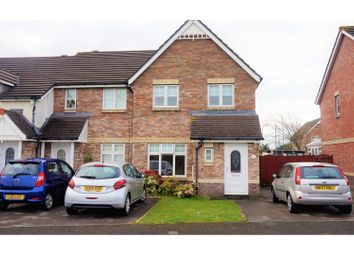 Thumbnail 3 bed end terrace house for sale in Cathedral Way, Baglan