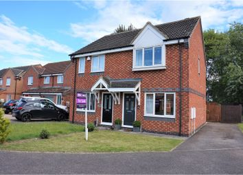 Thumbnail 2 bed semi-detached house for sale in Sir Douglas Park, Stockton-On-Tees