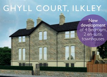 Thumbnail 4 bed town house for sale in Wells Walk, Ilkley