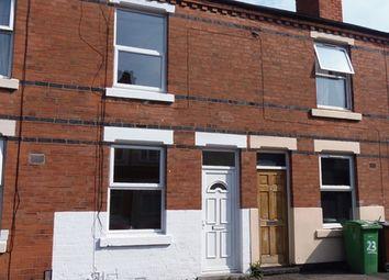 Thumbnail 2 bedroom terraced house to rent in Kimberley Street, Nottingham