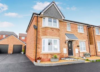 Thumbnail 4 bed detached house for sale in Railway Road, Rhoose, Barry
