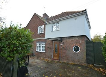 Thumbnail 3 bed semi-detached house for sale in Soleme Road, Norwich