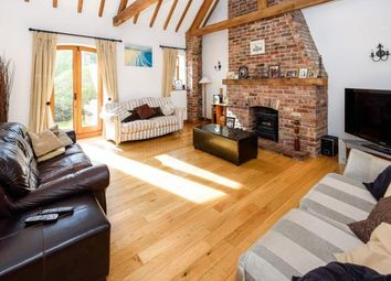 Thumbnail 5 bed barn conversion for sale in Wolverhampton Road, Shareshill, Wolverhampton, Staffordshire