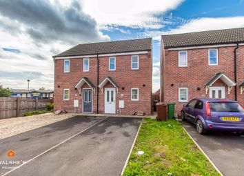 Thumbnail 2 bed semi-detached house for sale in Shelduck Way, Scunthorpe