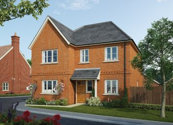 Thumbnail 4 bed detached house for sale in Fleet Road, Hartley Wintney, Hook
