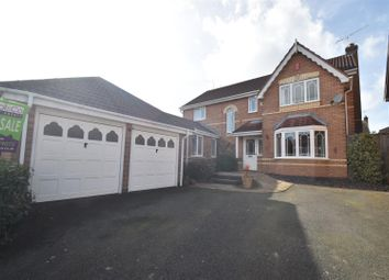 Thumbnail 4 bed detached house for sale in Charlotte Bronte Drive, Droitwich