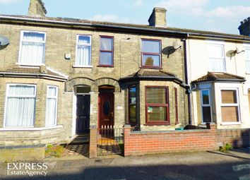 Thumbnail 3 bed terraced house for sale in St Peters Street, Lowestoft, Suffolk