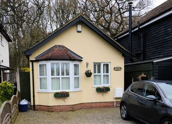 Thumbnail 1 bed detached bungalow for sale in Woodside, Thornwood, Epping