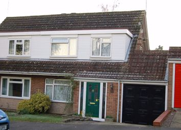 Thumbnail 3 bed semi-detached house for sale in Higgs Lane, Bagshot