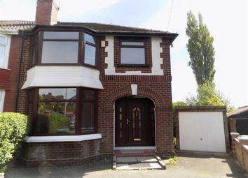 Thumbnail 3 bed semi-detached house to rent in Strain Avenue, Blackley, Manchester