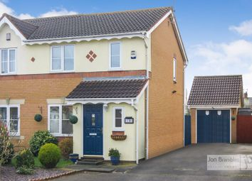 Thumbnail 3 bed semi-detached house for sale in Linseed Avenue, Newark