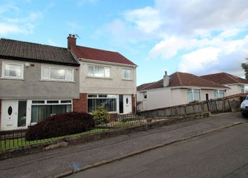 Thumbnail 3 bed semi-detached house for sale in St. Fillans Road, Stepps, Glasgow