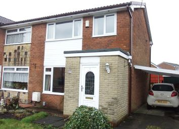 Thumbnail 3 bedroom property to rent in Harwood Vale Court, Bolton