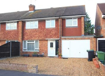 Thumbnail 4 bed link-detached house to rent in Malthouse Lane, West End, Woking