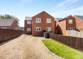 Thumbnail 3 bedroom semi-detached house for sale in Back Road, Murrow, Wisbech