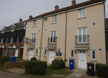 Thumbnail 3 bed terraced house for sale in Red Lodge, Bury St. Edmunds, Suffolk