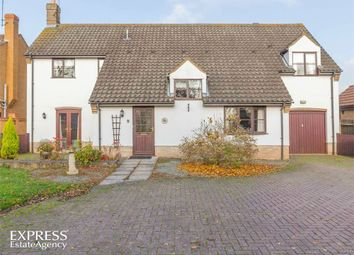 Thumbnail 3 bed detached house for sale in Main Road, Parson Drove, Wisbech, Cambridgeshire
