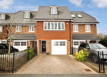 Thumbnail 4 bed terraced house for sale in Queens Drive, Thames Ditton