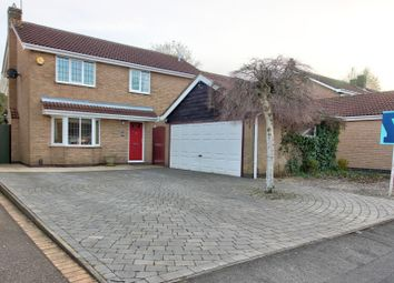 Thumbnail 4 bed detached house for sale in Somerfield Way, Leicester Forest East, Leicester