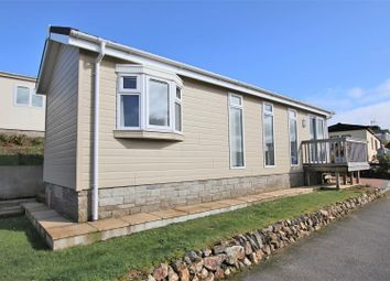Thumbnail 1 bed mobile/park home for sale in Clemens Avenue, Tregunnel Park, Newquay