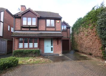 Thumbnail 4 bed detached house for sale in New Haw, Surrey