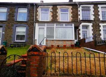 Thumbnail 2 bed terraced house for sale in Partridge Road, Llwynypia, Rhondda Cynon Taff.