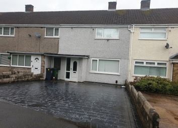 Thumbnail 2 bed terraced house for sale in Blagdon Close, Llanrumney, Cardiff