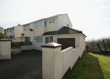 Thumbnail 3 bed semi-detached house for sale in Roman Drive, Bodmin