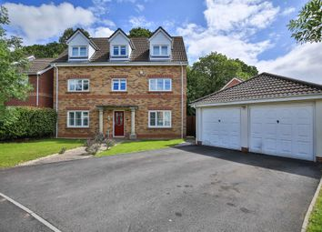 Thumbnail 5 bed detached house for sale in Woodruff Way, Thornhill, Cardiff