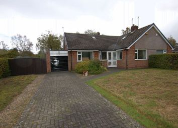 Thumbnail 3 bed semi-detached bungalow for sale in Longmeadows, Darras Hall, Newcastle Upon Tyne