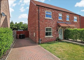 Thumbnail 3 bed semi-detached house for sale in Mendip Avenue, North Hykeham, North Hykeham, Lincoln