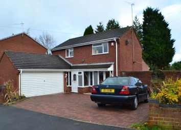 Thumbnail 4 bed detached house for sale in Merlin Avenue, Nuneaton