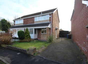 Thumbnail 3 bed semi-detached house for sale in Alkrington Close, Bury