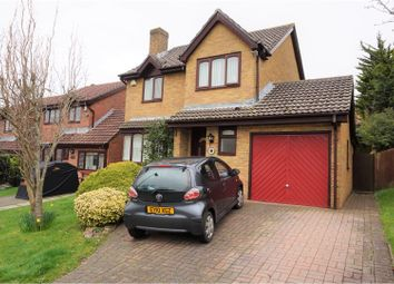 Thumbnail 4 bed detached house for sale in Spires Walk, Barry