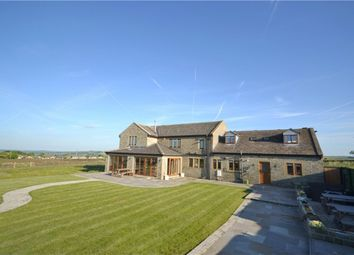 Thumbnail 7 bed detached house for sale in Denby Lane, Upper Denby, Huddersfield, West Yorkshire