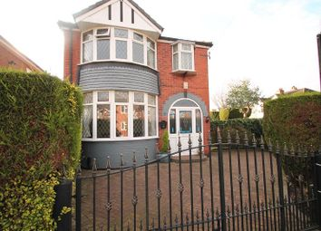 Thumbnail 3 bed detached house for sale in Woodheys Drive, Sale