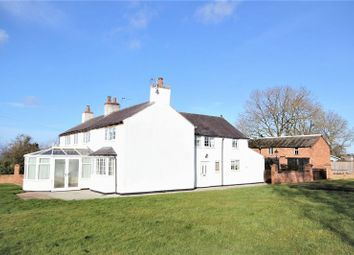 Thumbnail 5 bed detached house for sale in Greaves Lane, Threapwood, Malpas