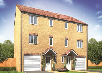 "Thumbnail 4 bed town house for sale in ""The Lydford"" at Neath Road, Landore, Swansea"