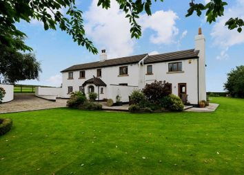 Thumbnail 4 bed farmhouse for sale in Ormskirk Road, Bickerstaffe, Ormskirk