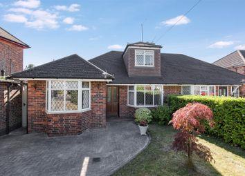 Thumbnail 3 bed semi-detached bungalow for sale in Newton Wood Road, Ashtead