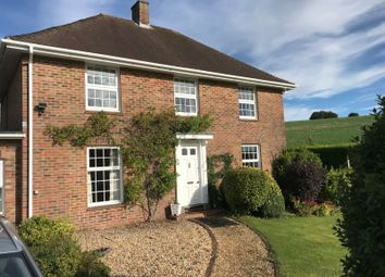 Thumbnail 3 bed detached house to rent in Post Office House, Litchfield, Whitchurch, Hampshire