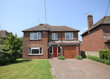 Thumbnail 4 bed detached house for sale in Church Road, Mersham, Ashford