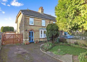 Thumbnail 3 bed semi-detached house for sale in Klondyke Villas, Sellindge, Kent