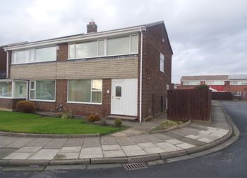 Thumbnail 3 bedroom semi-detached house for sale in Blackthorn Drive, Wallsend