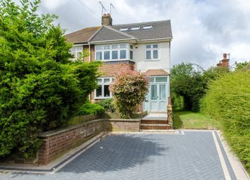 Thumbnail 4 bedroom semi-detached house for sale in Whitehill Lane, Gravesend
