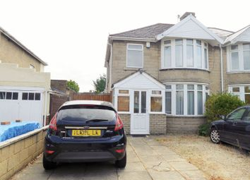 Thumbnail 3 bed semi-detached house for sale in Bradley Road, Swindon