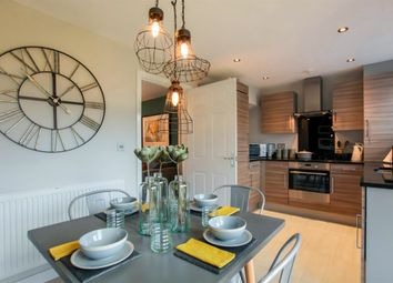 "Thumbnail 3 bedroom semi-detached house for sale in ""The Hanbury"" at Ixworth Road, Thurston, Bury St. Edmunds"