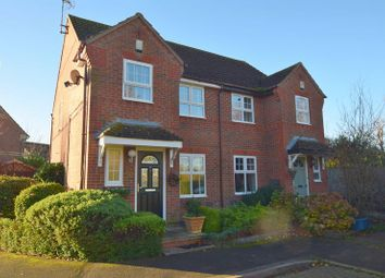 Thumbnail 3 bedroom semi-detached house for sale in Long Ayres, Caldecotte, Milton Keynes