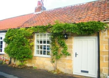 Thumbnail 3 bed cottage to rent in Church Lane, Swainby, Northallerton